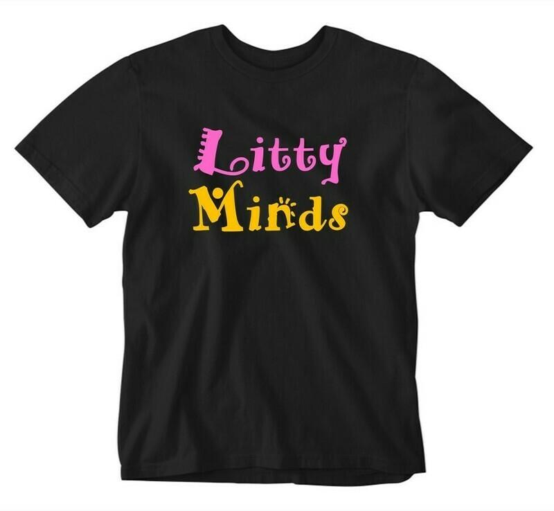 Litty Minds Script Tee