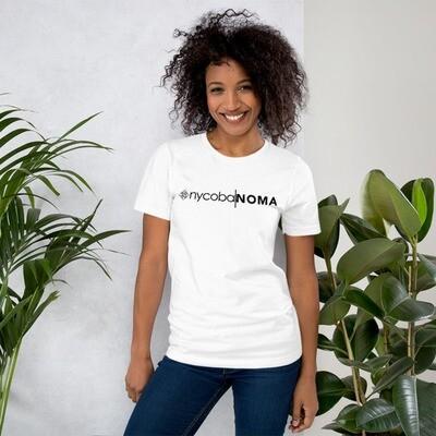 nycoba NOMA white Unisex T-Shirt