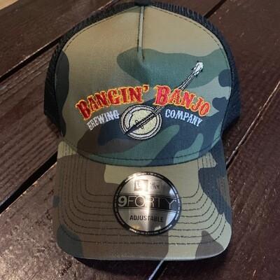 Bangin' Banjo Snapback Hat - CAMO