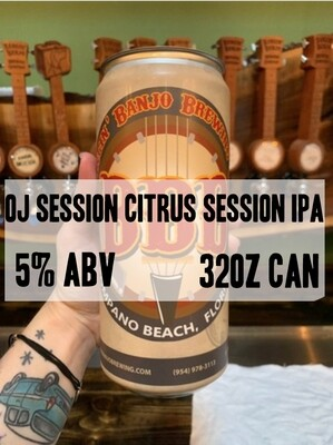 32oz Crowler - OJ Session Citrus IPA 5% ABV