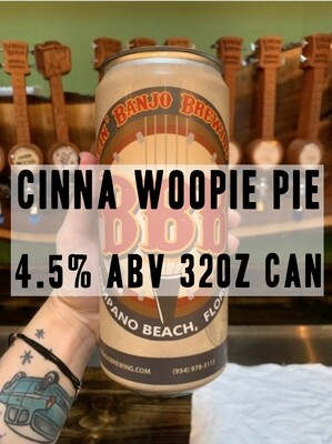 32oz Crowler - Cinna Woopie Pie Stout 4.5% ABV
