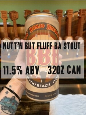 32oz Crowler - Nutt'n But Fluff Imperial Stout 11.5% ABV