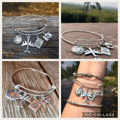 Travel Bangle Bracelet