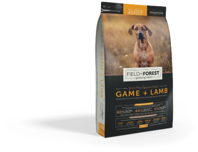 Field and Forest Adult  Game + Lamb