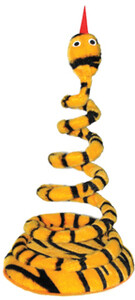 Standing Spiral Snake Cat Toy