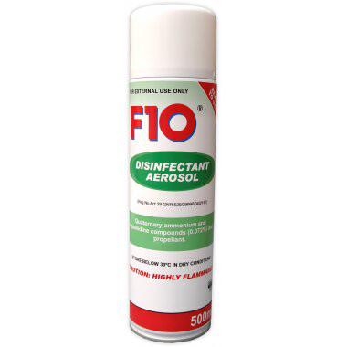 F10 Disinfectant Aerosol