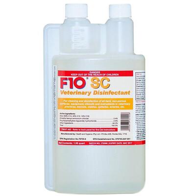 F10 SC Vet Disinfectant 200ml & Pre-Printed Vet Disinfectant Empty Spray Bottle (Combo)