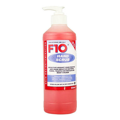 F10 Disinfectant Hand Rub - Sanitizer 500ml