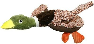 Brown Mallard Dog Plush Toy - 34cm