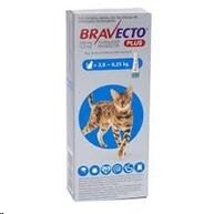 Bravecto Plus Med Cat 2.8-6.25kg