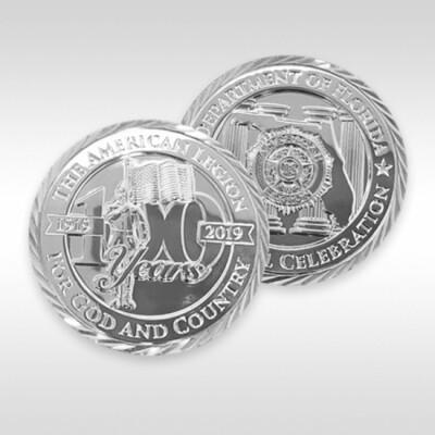 Centennial Coin .999 Silver - Florida