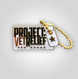 PROJECT:VetRelief Pin