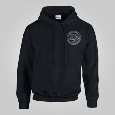 75th Boys State Black Hoodie