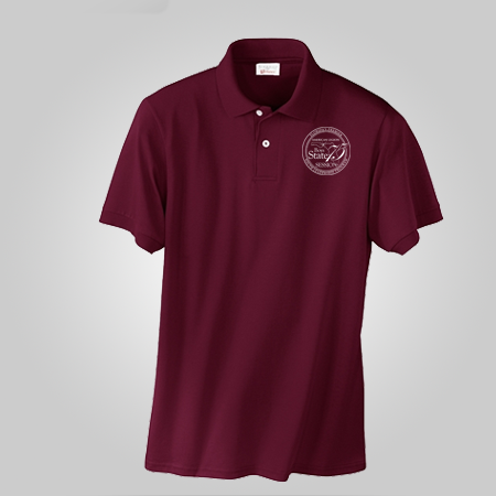 75th Boys State Maroon Polo