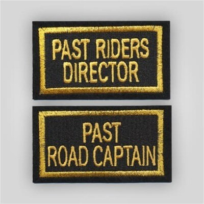 Legion Riders Past Officer Patch