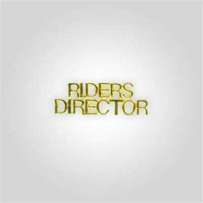 Cap Bar Pin - Riders Director