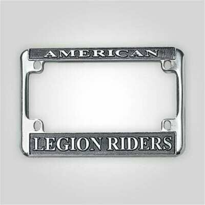 Legion Riders Motorcycle License Plate Frame