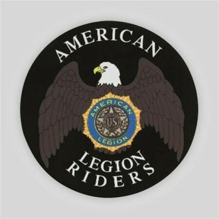 Legion Riders Removable Decal - 3""