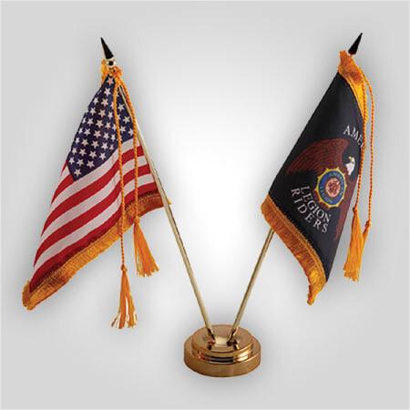 Legion Riders Desk Flag Set 4x6