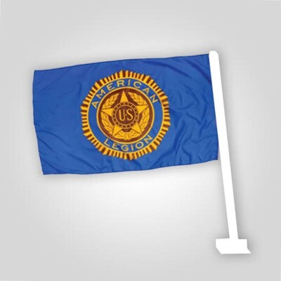 American Legion Auto Flag