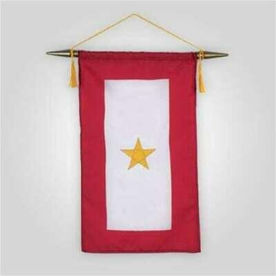 Gold Star Service Banner - 8