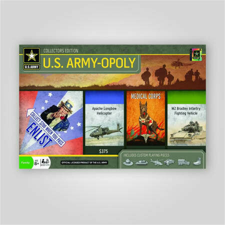 MasterPieces U.S. Army-Opoly Board Game