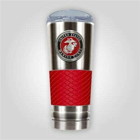 Marines 24 oz Stainless Cup