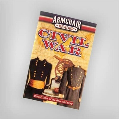 Civil War Armchair Reader Book
