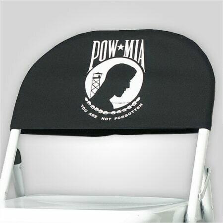 POW/MIA Chair Cover