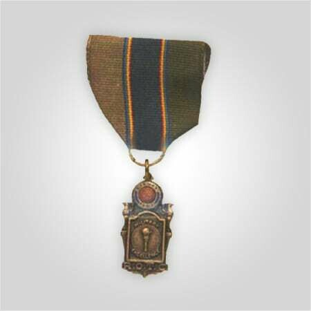 ROTC Military Excellence Medal with Ribar Gold