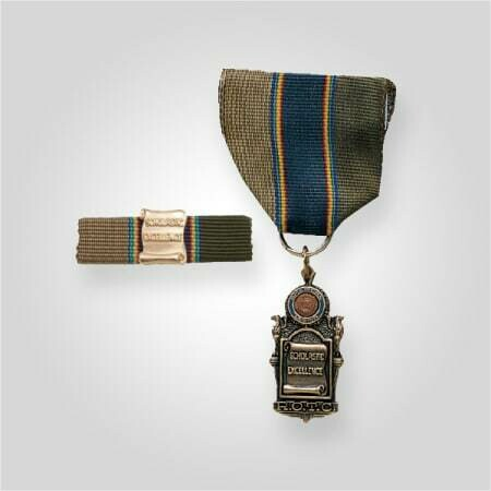 ROTC Scholastic Excellence Medal with Ribar Gold