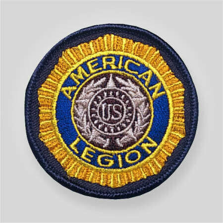 """American Legion Embroidered Emblem Patch 2.5"""""""