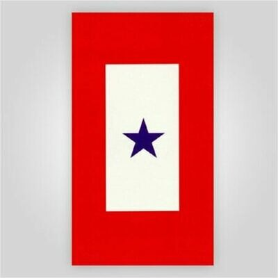 Blue Star Decal - 8
