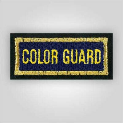 Color Guard Insignia Patch