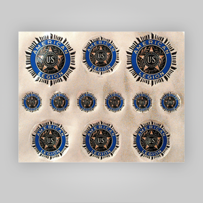 American Legion Emblem Decals 8