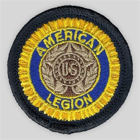Embroidered Legion Patch - 1 1/2""