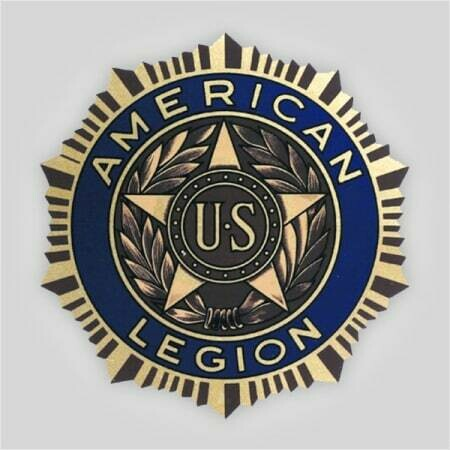 Legion Emblem Polyester Decal - 12""