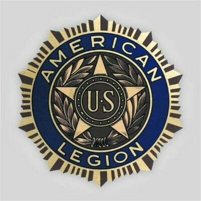 Legion Emblem Polyester Decal - 12