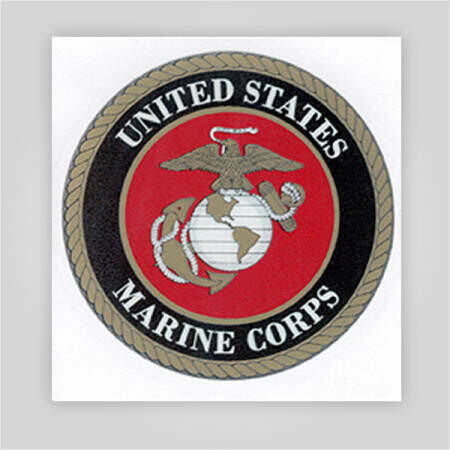 Marines Decal