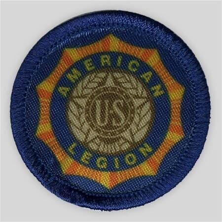 Printed American Legion Emblem Patch