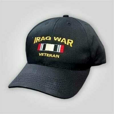 """Iraq War Veteran"" Embroidered Cap"