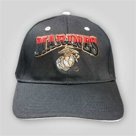 """Marines"" Embroidered Cap"