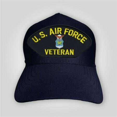 US Air Force Veteran Emblem Cap