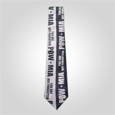 POW/MIA Blue Neck Tie