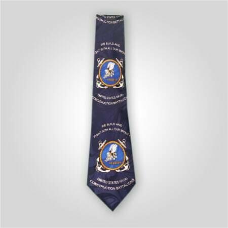 SEABEES US Naval Neck Tie