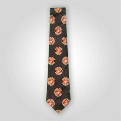 US Marine Corps Logo Neck Tie