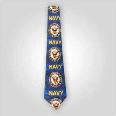 US Navy Emblem Neck Tie
