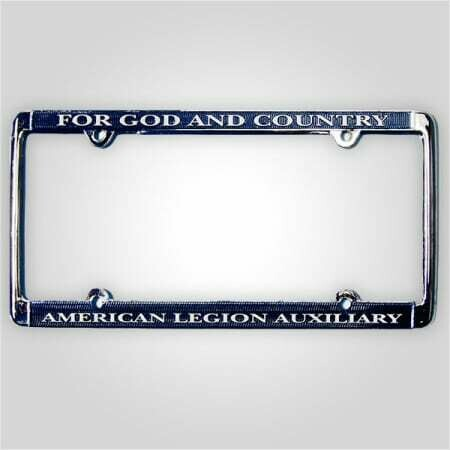 Auxiliary License Plate Frame