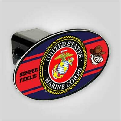 Marines Trailer Hitch Cover