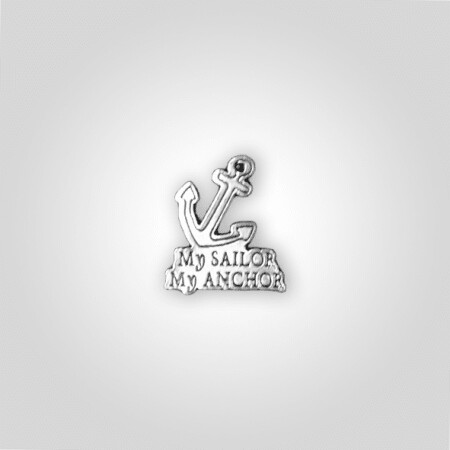 """My Sailor My Anchor"" Charm"